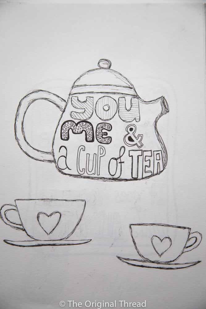 Tea - Focus on Typography